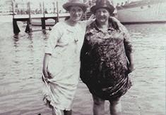 Ellen Waller and Rose Catlin