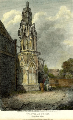 Eleanor Cross, 1803 | J Greig, from a painting by G Arnold