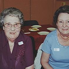 Barbara Walton (left) with her sister Rita. | Geoff Webb