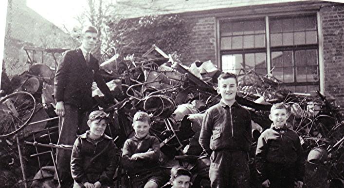 Boys School War Effort | Geoff Webb