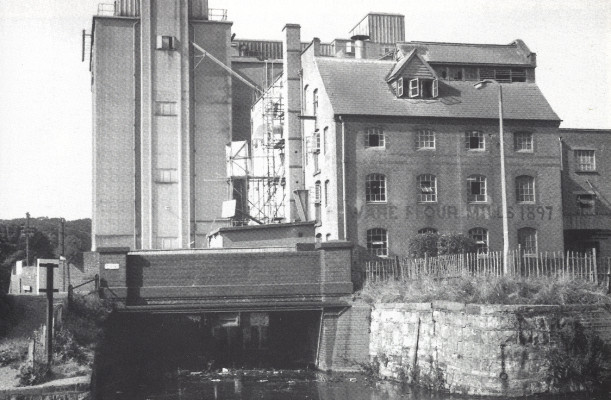 Ware flour mills in 1967 | Ware's Past in Pictures by D Perman