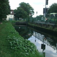 The New River flowing through Ware   Nicholas Blatchley