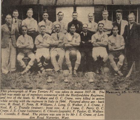 Ware Terriers FC