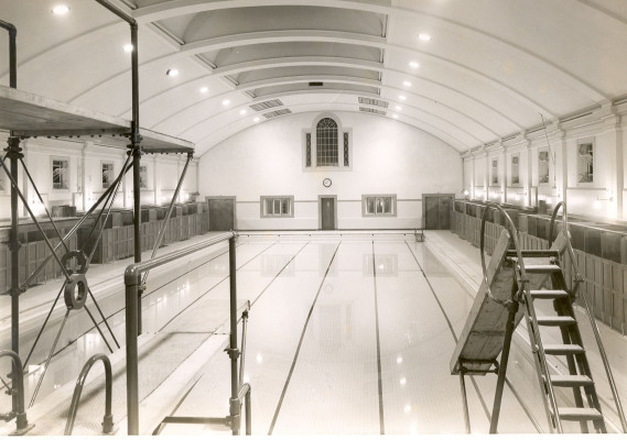 Inside Watford Central Baths | Watford Central Library