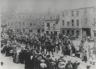 Celebrations on Watford High Street | Hertfordshire Archives and Local Studies