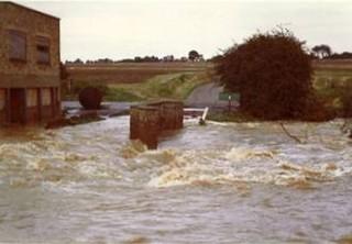 Flood damage in 1968