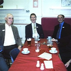 Left to right: Ellis Webb, Mick Maguire, Ted and Bob Benn, Jim and Arthur Burrows. | Geoff Webb