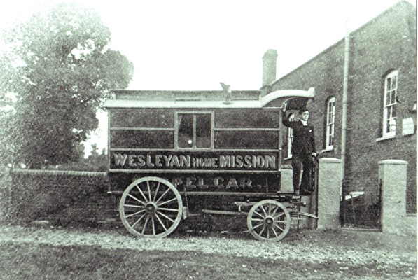 Wesleyan Methodist Chapel Car | Geoff Webb