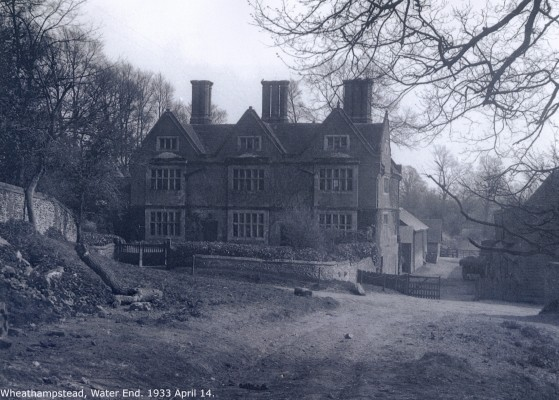Water End, Wheathampstead, 14 April 1933