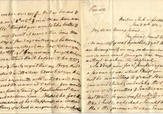 Letters from anti-slavery campaigner William Wilberforce to Abel Smith