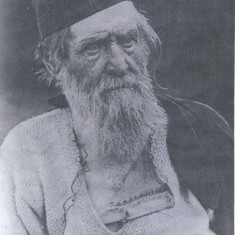 William John Fry (1825 - 1900) Bailiff known as the Hermit of Barnet. Aged 73