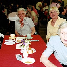 (Left to right): Yvonne Anderson, Betty Winch, Mollie Rolph, Gwen Knight. | Geoff Webb