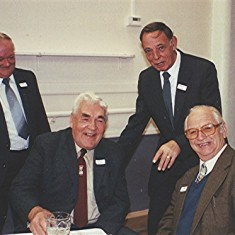 Left to right: George Allen, Charlie Collett, Dennis Winch, Fred Wilson. | Geoff Webb