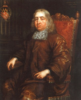 Sir John Wittewronge in later life | Hertfordshire Archives and Local Studies