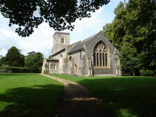 The parish church where George Orwell married Eileen O'Shaughnessy | Adam Jones-Lloyd