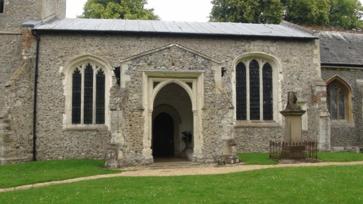 Entrance to the church | Adam Jones-Lloyd