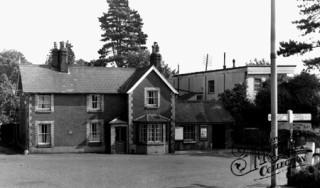 Wheathampstead railway station c1960