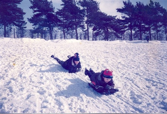 Woodcock Hill on a snowy day | Linda Siggins