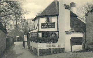 Ye Olde Fighting Cocks, St Albans | Hertfordshire Archives & Local Studies
