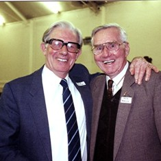 Ernie Young (left) and Ralph Reading | Geoff Webb