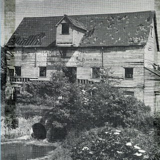 The old watermill - since demolished | Hertfordshire Archives and Local Studies